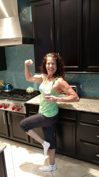 Bethy muscle with shake
