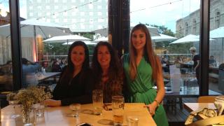 3 at restaurant