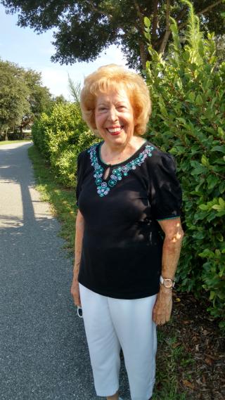 Gloria 88 years young!